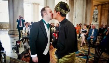 Perkahwinan gay lelaki melayu pertama di Dublin
