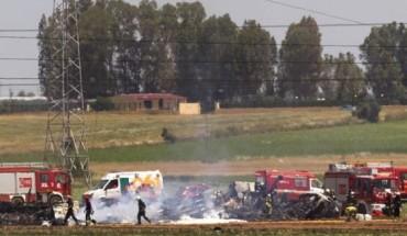 Pesawat tentera Airbus A400M terhempas,empat jadi mangsa korban