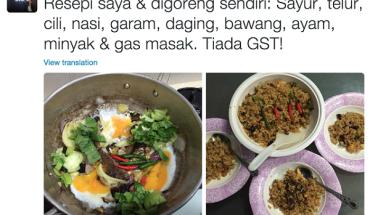 Resepi nasi goreng tanpa GST resepi rahsia Ahmad Maslan