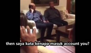 RM2.6 bilion dalam akaun pm dibocorkan dalam sebuah video