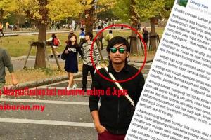 Tak balik MalaysiaLuahan hati mahasiswa melayu di Jepun