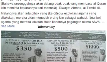 Dr Maza tegur sesetengah pihak yang seakan cuba mengexploitasikan agama