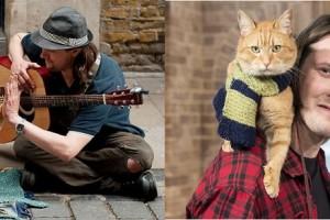 Kucing bernama bob tukar kehidupan seorang penagih