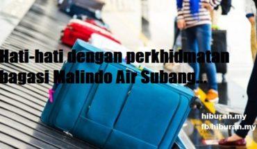 perkhidmatan bagasi Malindo Air Subang