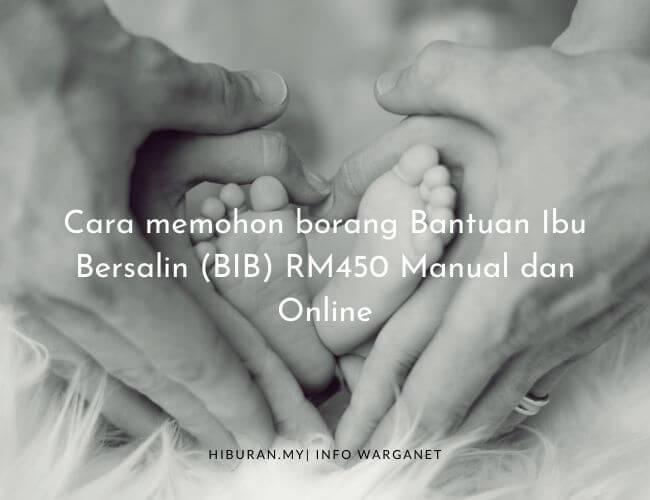 borang Bantuan Ibu Bersalin (BIB)