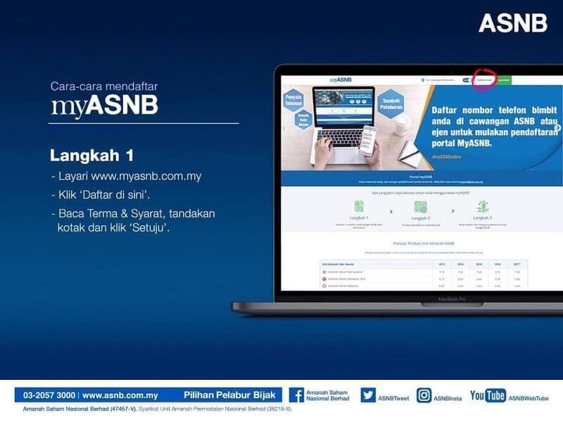 pendaftaran ASB Online step 1