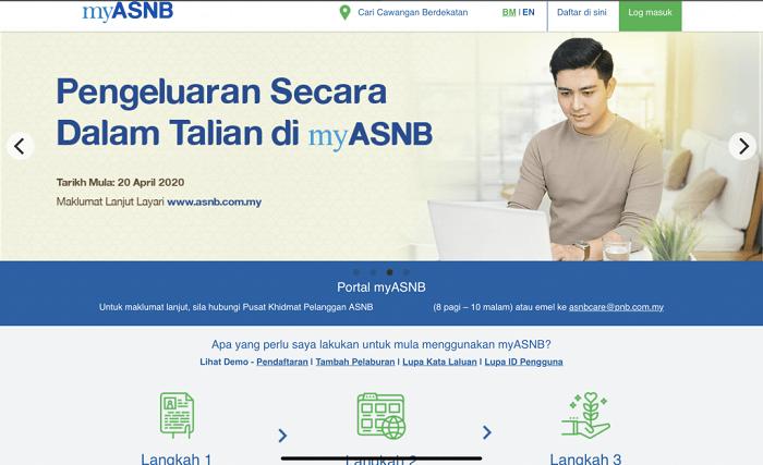 pengeluaran online ASB