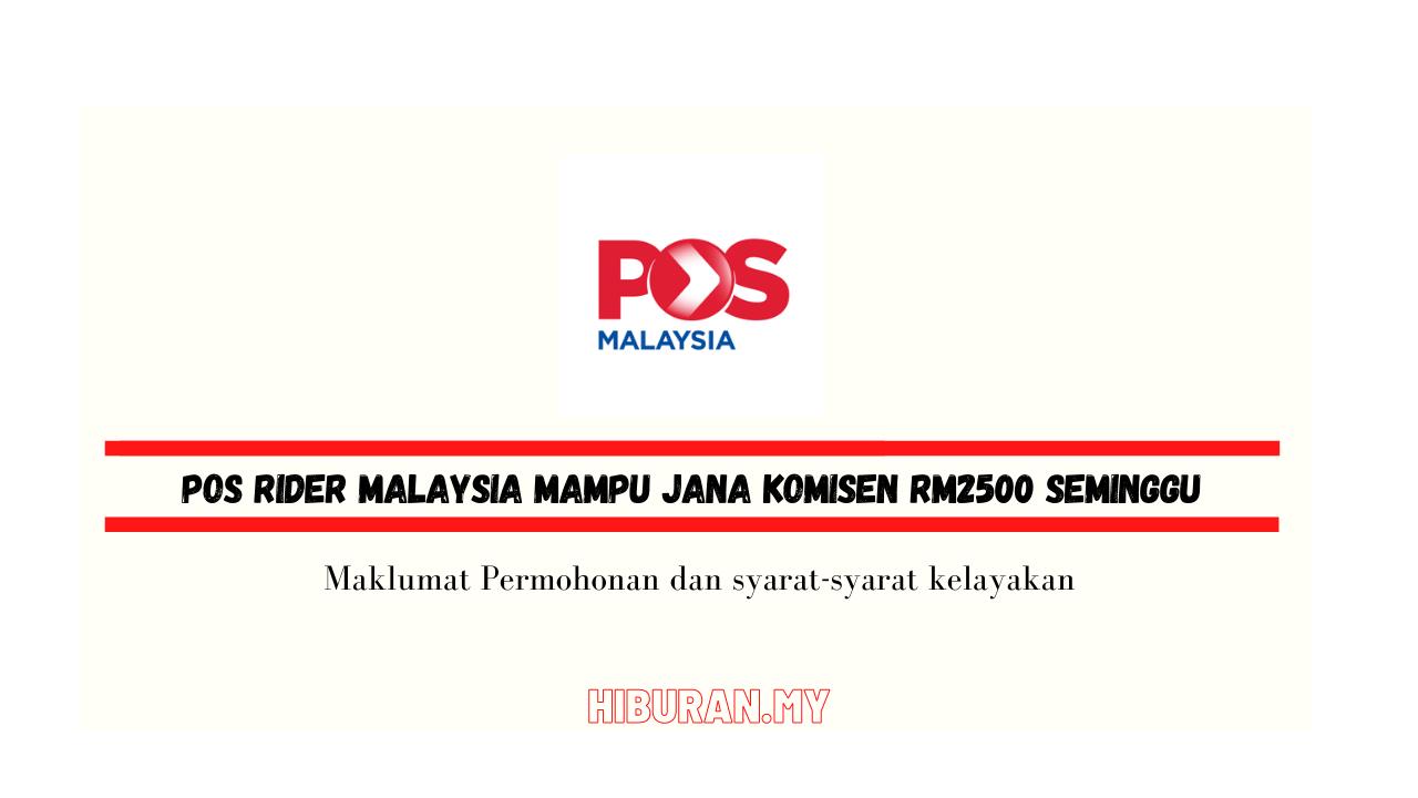 POS Rider Malaysia