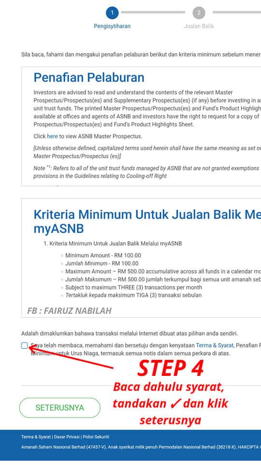 Pengeluaran Duit ASB online (4)