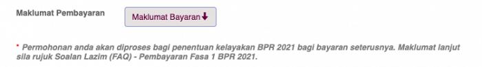 semak permohonan BPR