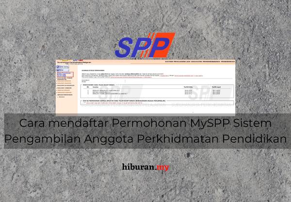 Permohonan Pendaftaran MySPP