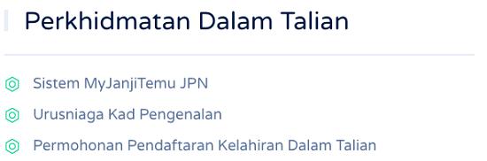 Daftar Kelahiran JPN Online