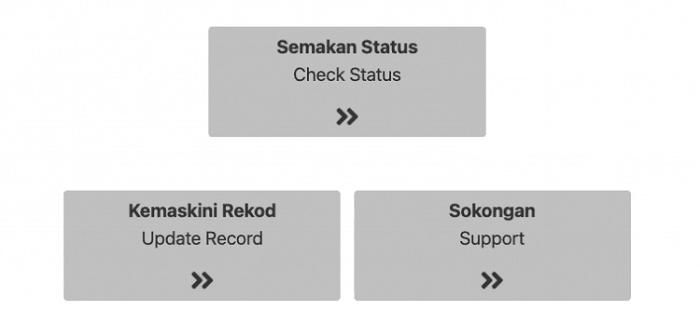 semakan status geran bkss 6.0