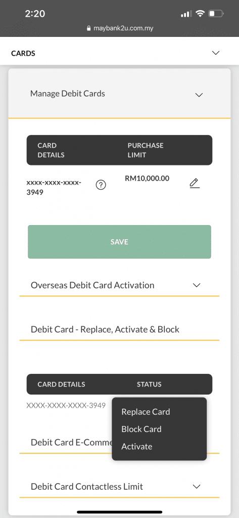 tukar kad ATM Maybank dah tamat tempoh