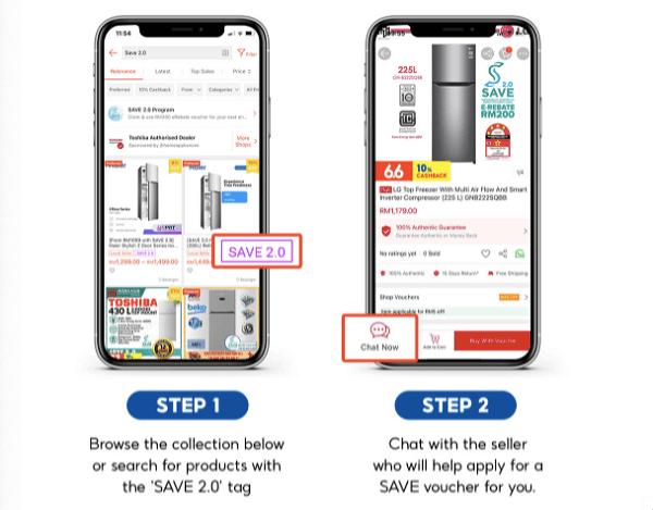 Daftar SAVE 2.0 Shopee